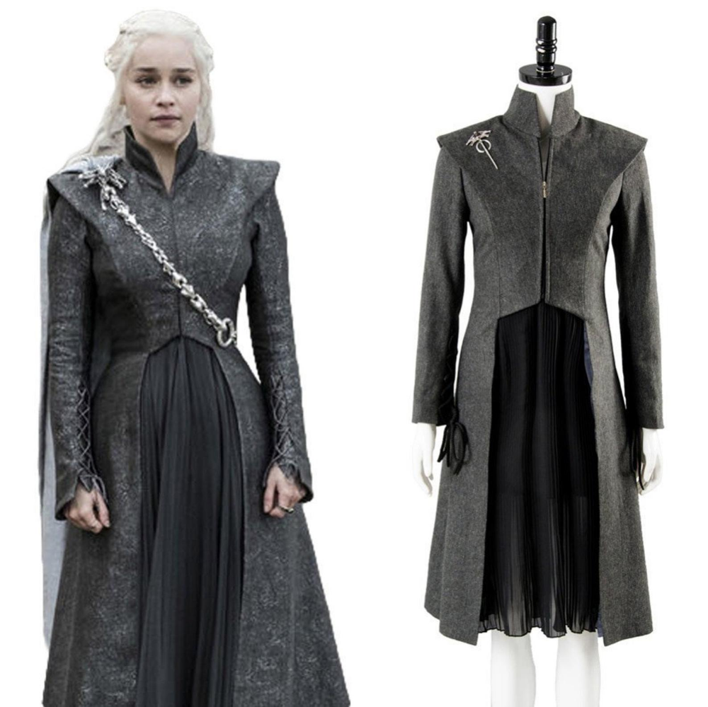 Game Of Thrones Daenerys Targaryen Khaleesi Dress Costume ...