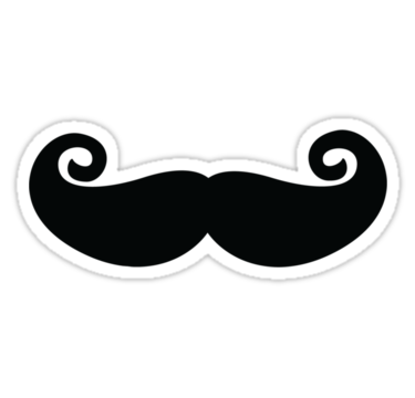 Chaplin Mustache Sticker Sticker By Madnic Mustache Stickers Chaplin