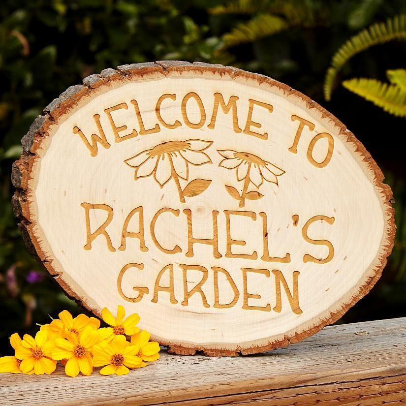 Country Garden Sign Garden gifts, Personalized
