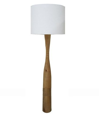 Natural timber floor lamp - Online Store - Kristy Lee Interiors ...
