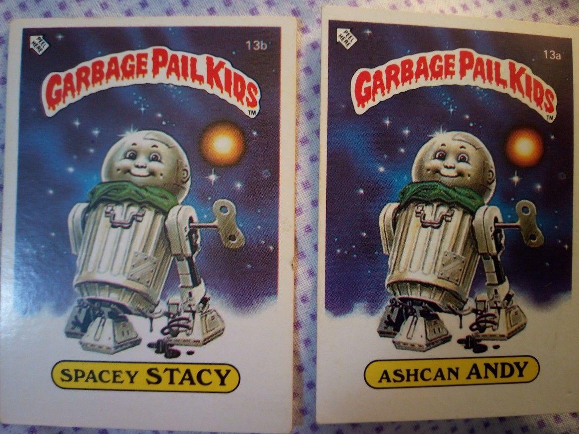 Garbage Pail Kids Series 1 Uk 1985 Garbage Pail Kids Kids Series Kids