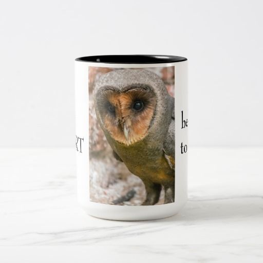 Barn owl Two-Tone coffee mug | Zazzle.co.uk | Mugs, Coffee ...