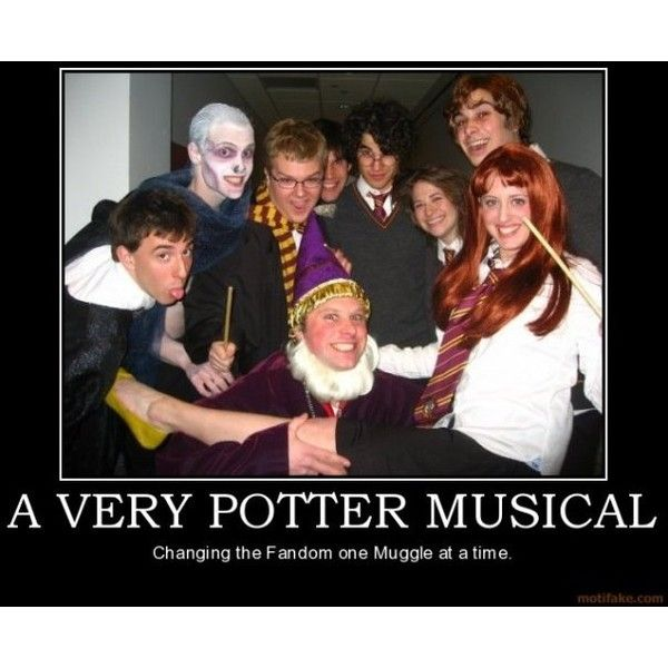 A Very Potter Musical Television Tropes Idioms Liked On Polyvore Featuring Harry Potter Starkid Avpm Very Potter Musical Harry Potter Musical Starkid