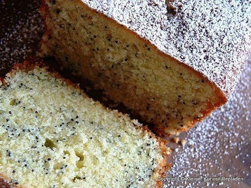 Kleiner Kuriositätenladen: Zitronen-Mohn-Kuchen