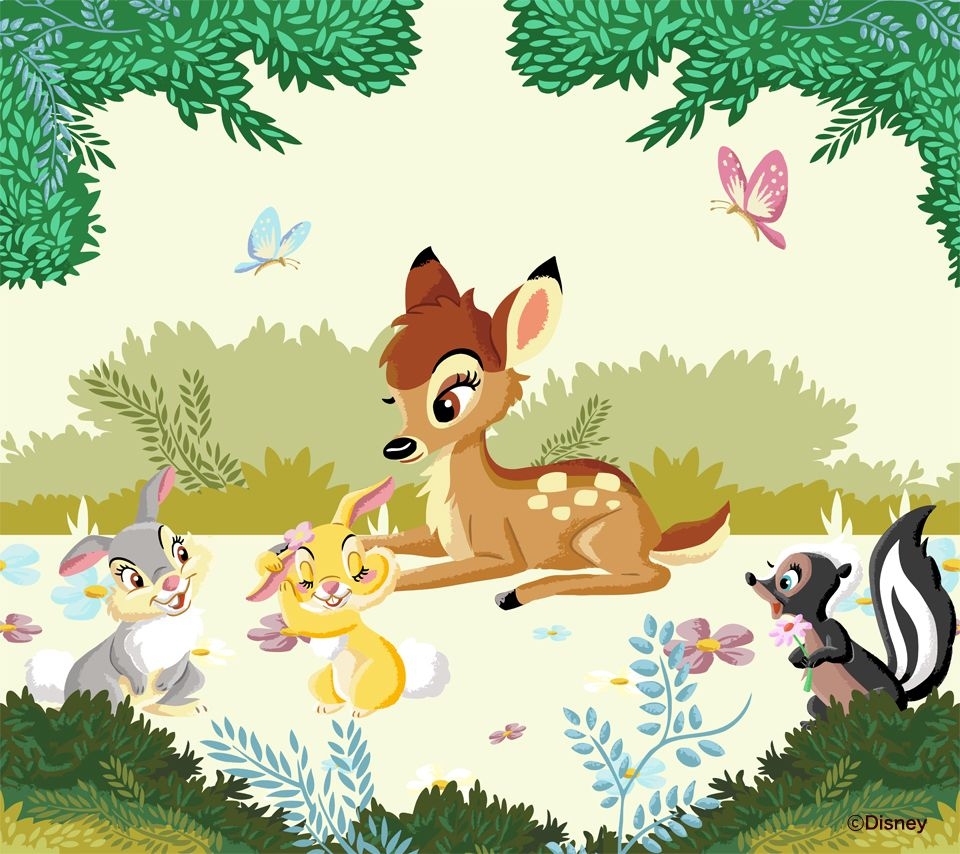 bambi and thumper - bambi | four love | pinterest | ディズニー