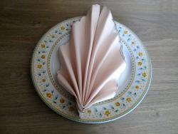 Pliage de serviette : comment faire une feuille ?