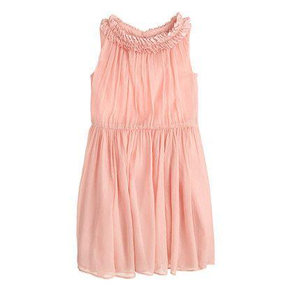 3fc39662241 J.Crew - Girls  pleated ruffle dress in crinkle chiffon