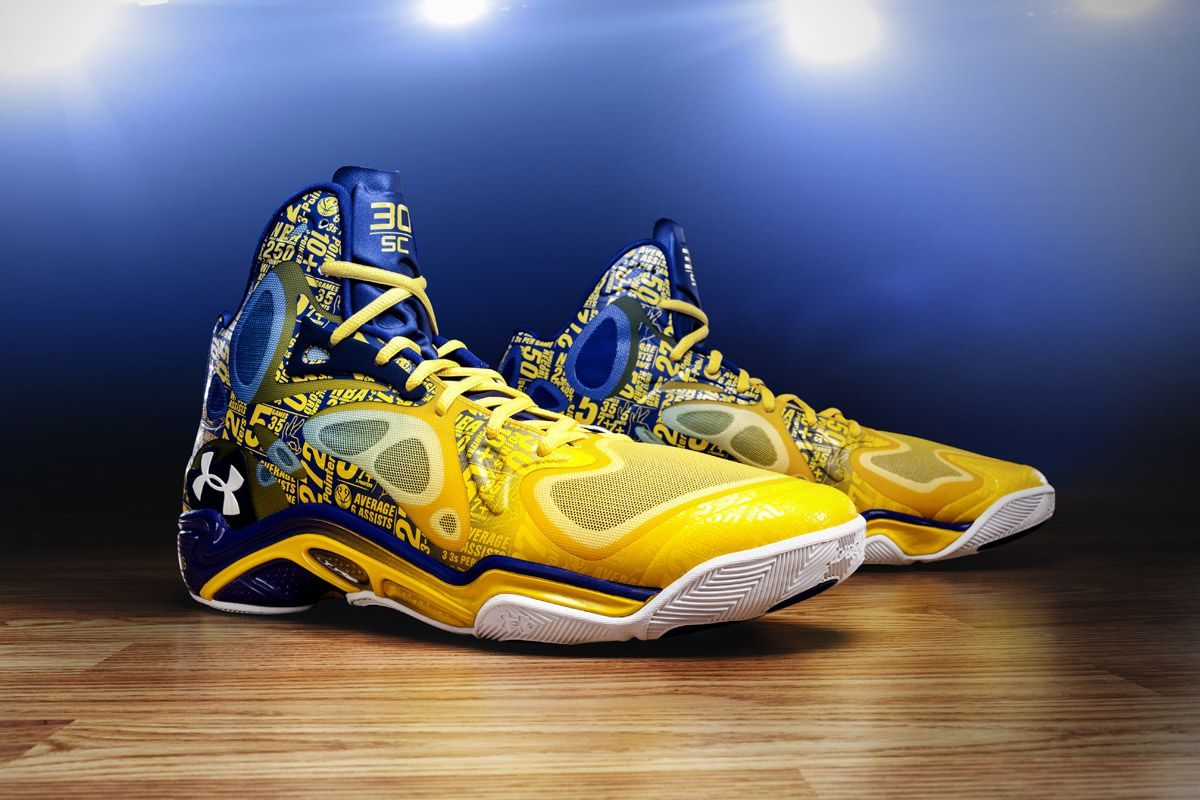 Under Armour Anatomix Spawn Away Stephen Most Expensive Curry PE