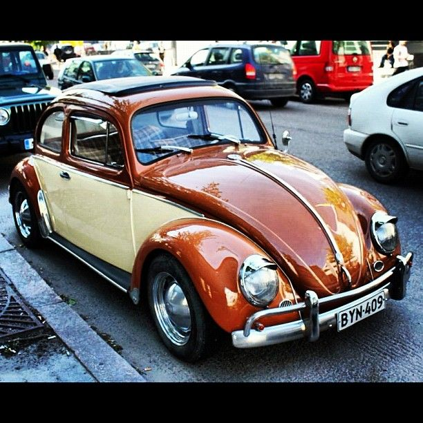 Volkswagen Touch Up Paint: VW Bug-had A 65 In Cali Painted Matte Black W Silver Touch