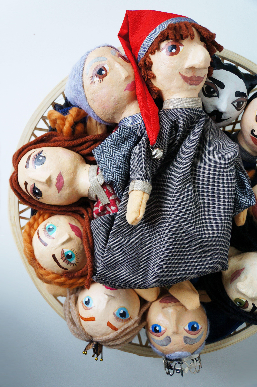 Beliebt Kasperle Figuren, Handpuppen   DIY von bastelnmalenKuchenbacken CC27