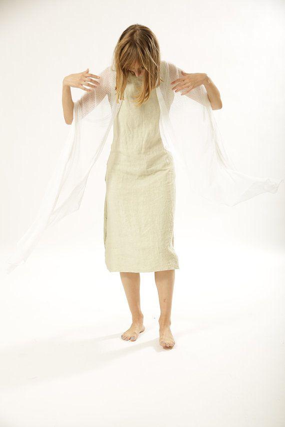 Sheer white scarf, White women knitted scarf,White bamboo silk scarf