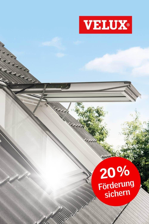 Entspannt zu neuen Dachfenstern – mindestens 20% Förderung