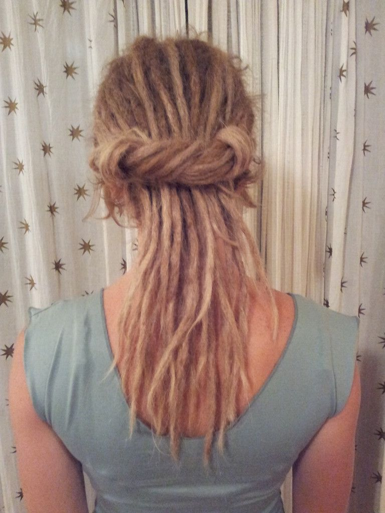 Thin Blonde Dreads Dreadlocks Pinterest Blonde Dreads Dreads