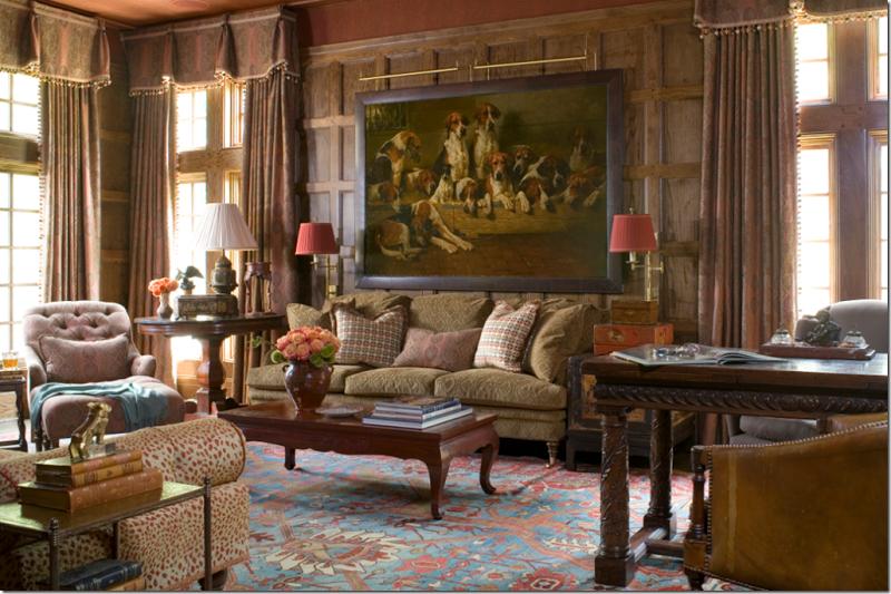 Timerless british country lifestyle wohnzimmer haus for Lesezimmer einrichten ideen