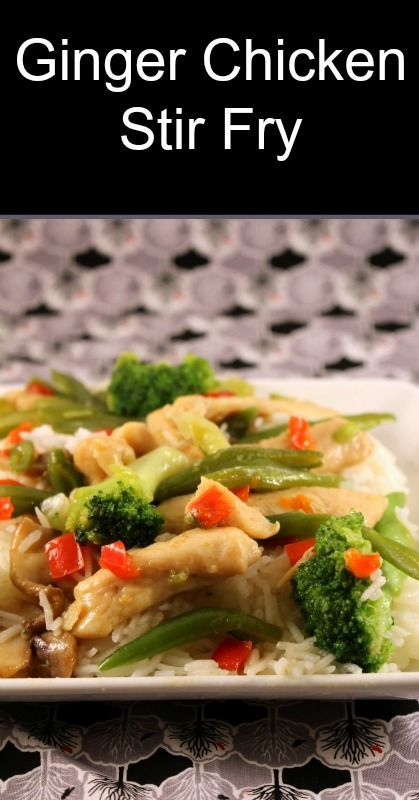 Ginger chicken stir fry real food traditional food weston a price ginger chicken stir fry real food traditional food weston a price healthy forumfinder Image collections