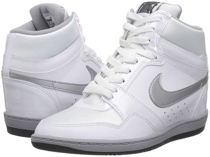 a63dd44389218 Nike Force Sky High Sneaker Wedge | Women Wedge Sneakers | Wedge ...