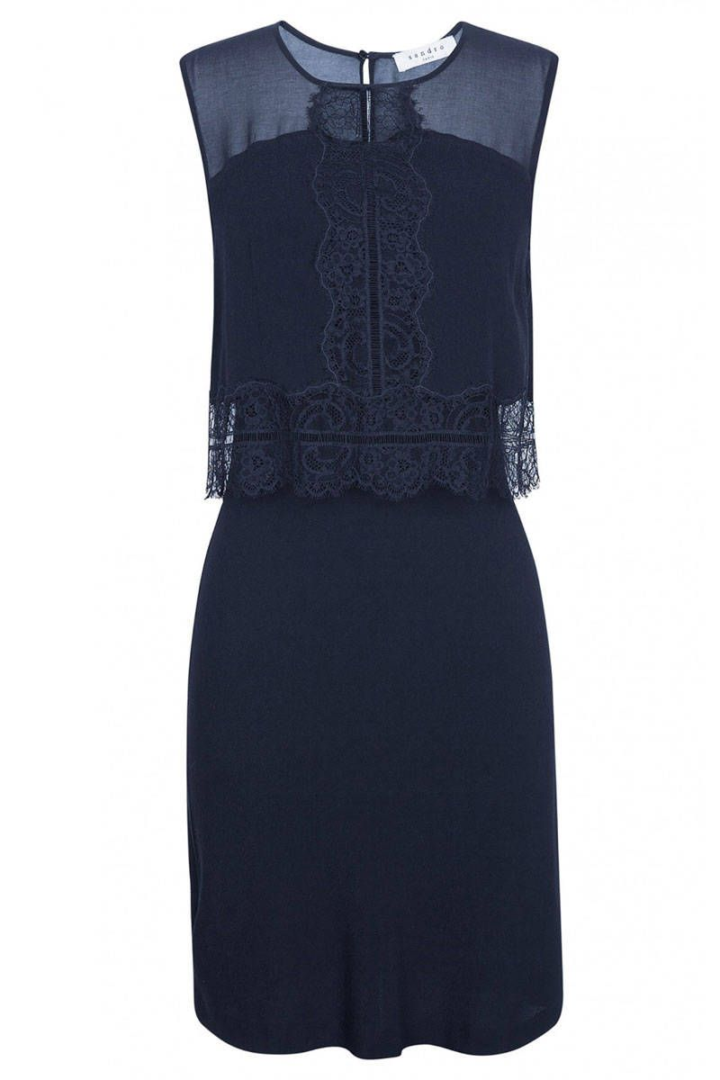 Dresses to wear to a wedding as a guest over 50   Dresses Any Guest Can Wear to a Winter Wedding  Lace overlay
