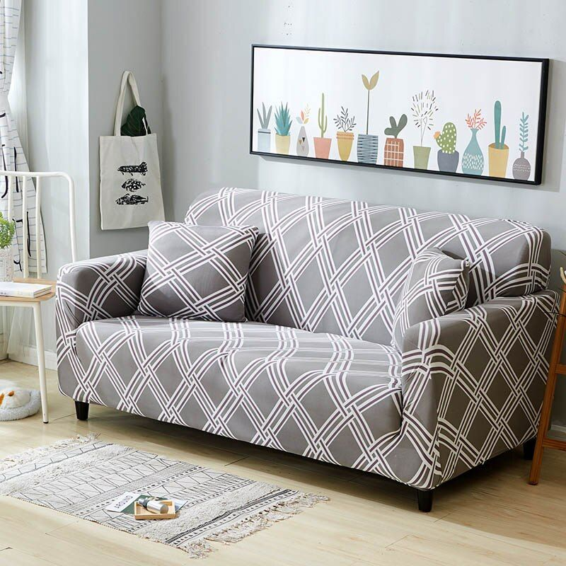 Sofa Cover Elastic Stretch Furniture Covers Slipcovers For Armchairs Couch Cover 4 Seater 235 300cm Color 10 In 2020 Couch Covers Sofa Covers Loveseat Slipcovers