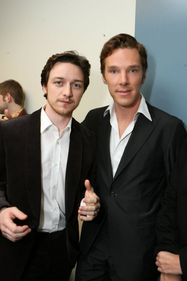 James McAvoy and Benedict Cumberbatch. And all my dreams ...