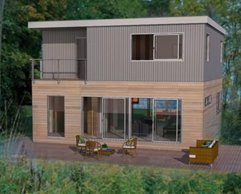 The Modular Home Model Manufactured By Jet Prefab