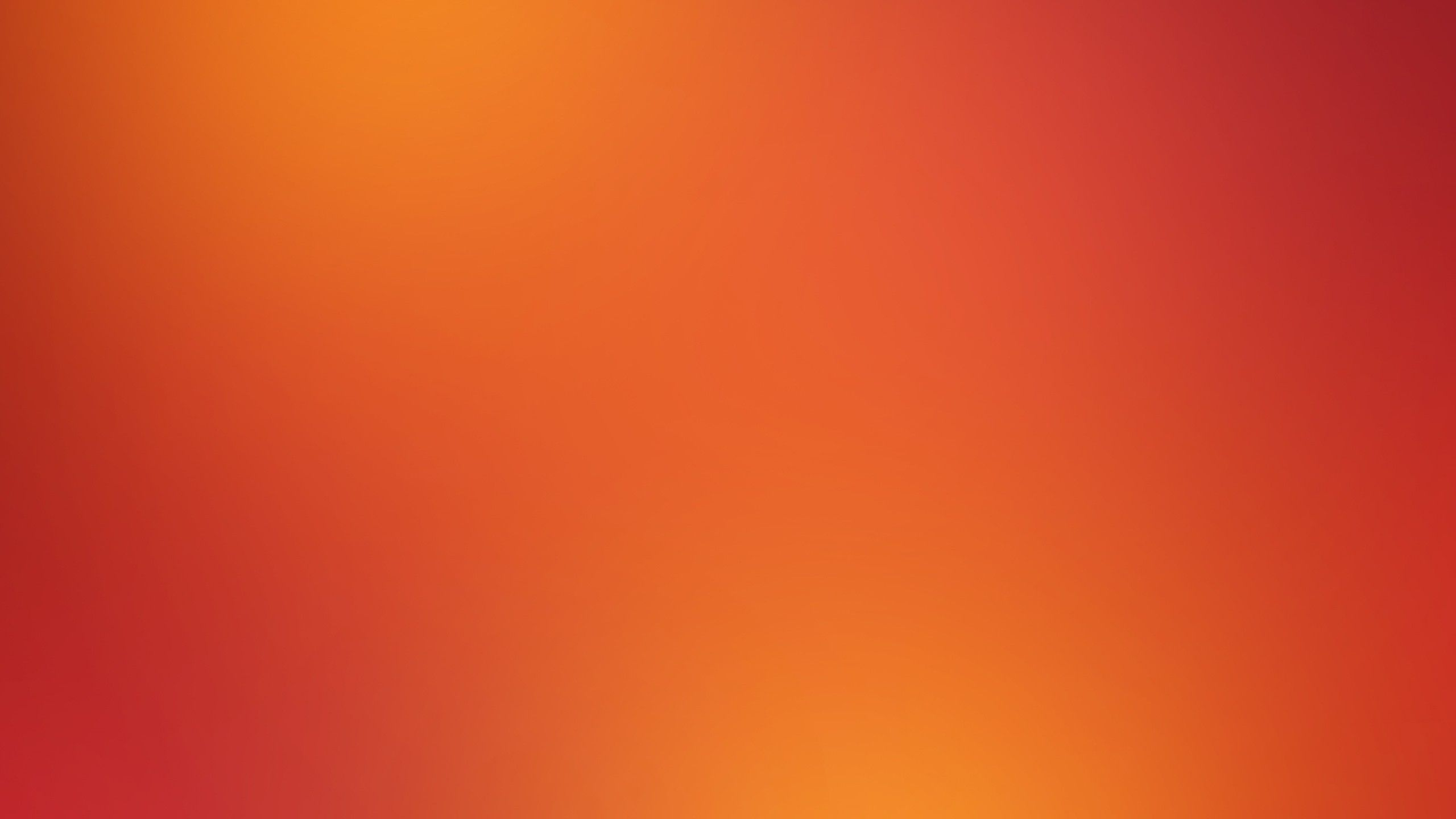 Red Yellow Orange Gaussian Blur / 2560x1440 Wallpaper