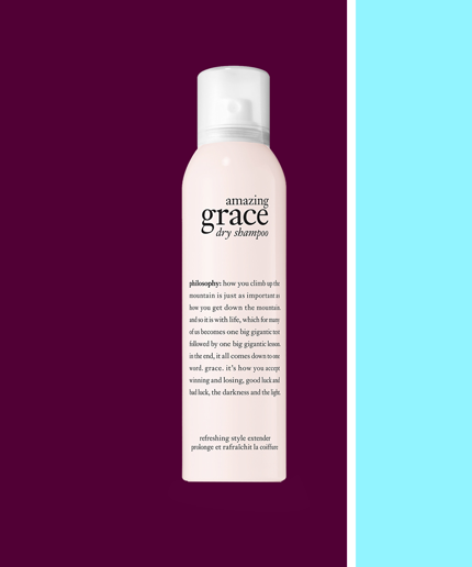Philosophy Just Turned Its Iconic Scent Into A Hair Product It S Amazing Philosophy Amazing Grace Dry Shampoo Amazing Grace