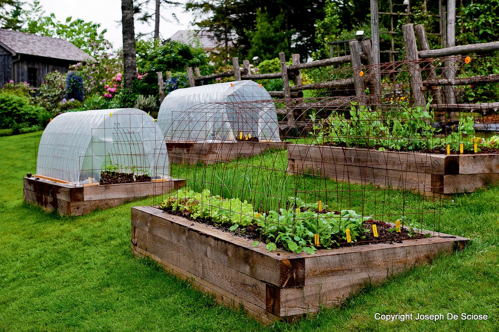 Designing A Vegetable Garden With Raised Beds how to make inexpensive raised beds four different ideas Gardens 10 Stunning Landscape Ideas For A Sloped Yard