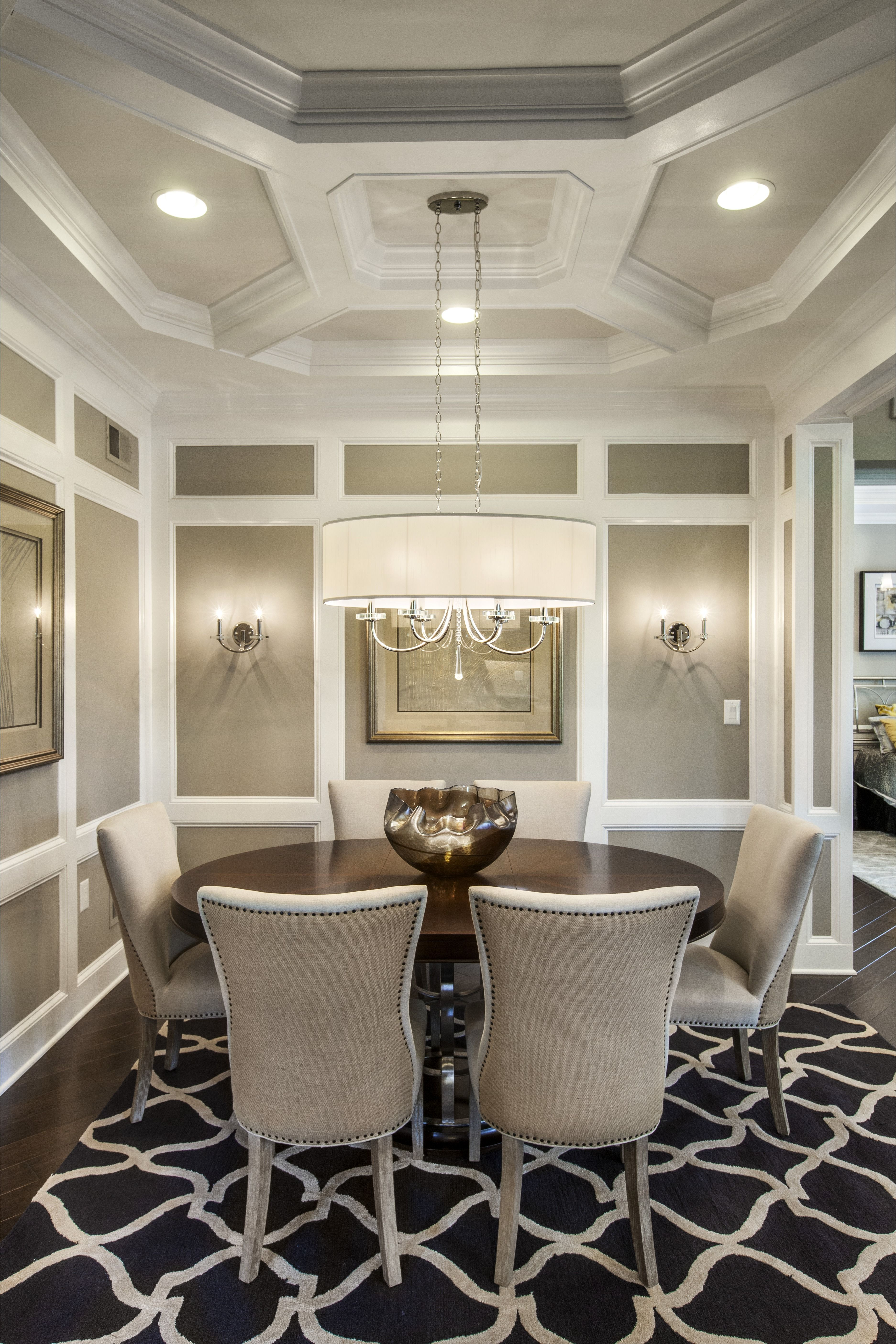A classic looking dining room toll brothers regency at