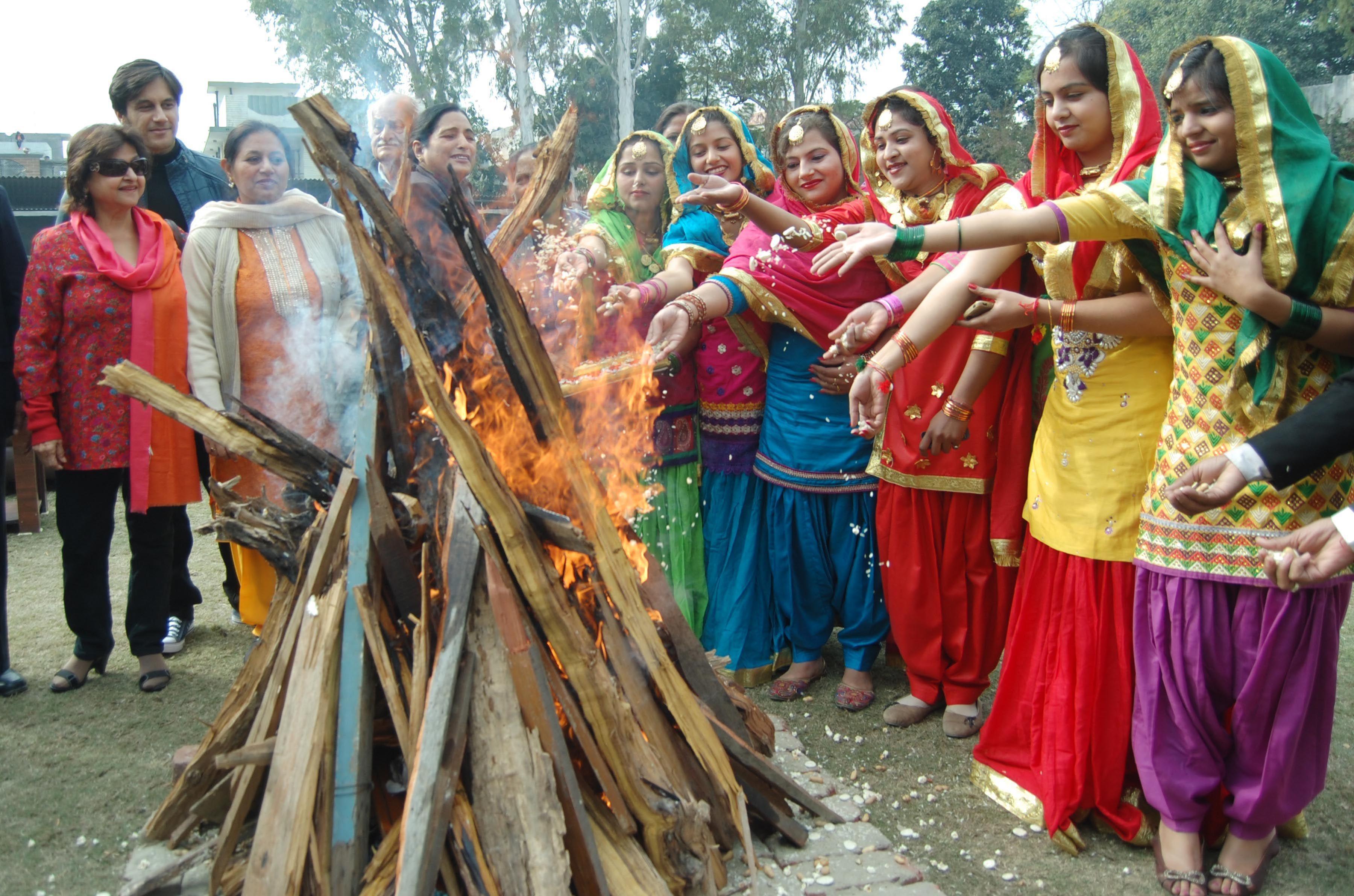 Lohri festival mostly celebrate in Punjab. | India culture, Indian  festivals, Festivals of india