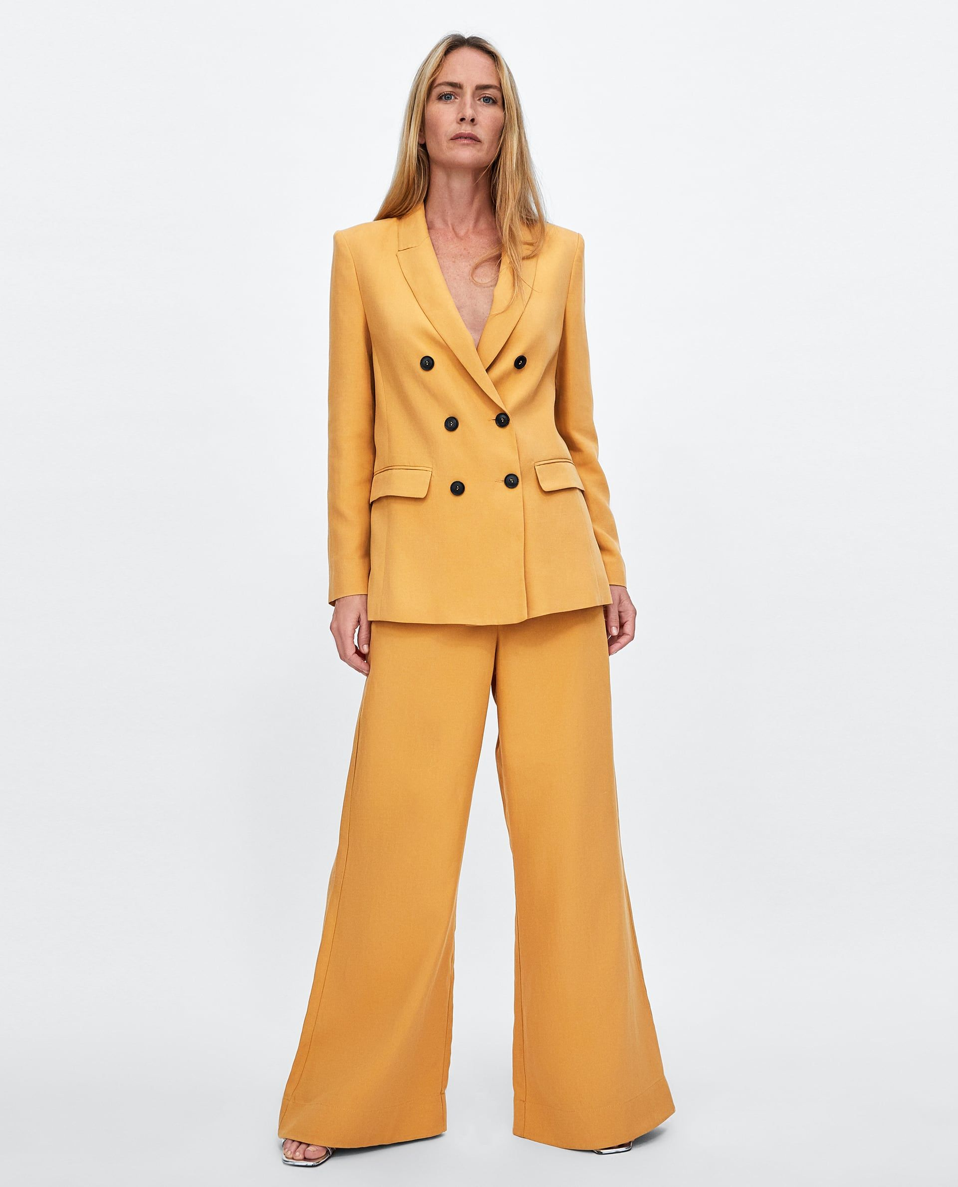 a6aef3a4 PANTALÓN ANCHO COLOR in 2019 | Work Attire: The Interview Suit ...