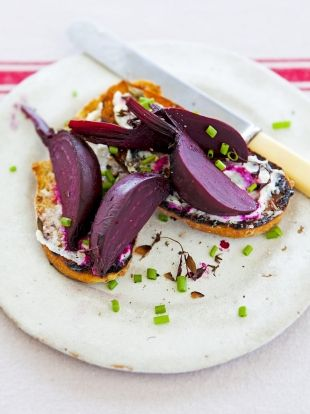 Roasted Beetroot on Toast | Vegetables Recipes | Jamie Oliver