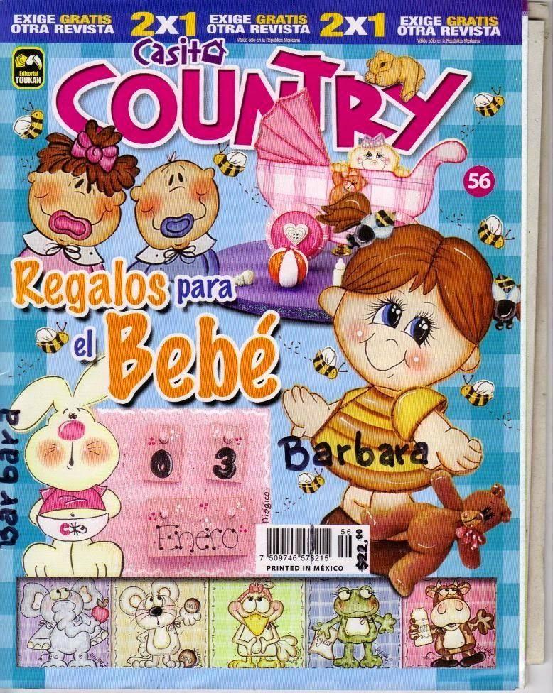 Manualidades country Regalos para bebe - Revistas de manualidades Gratis