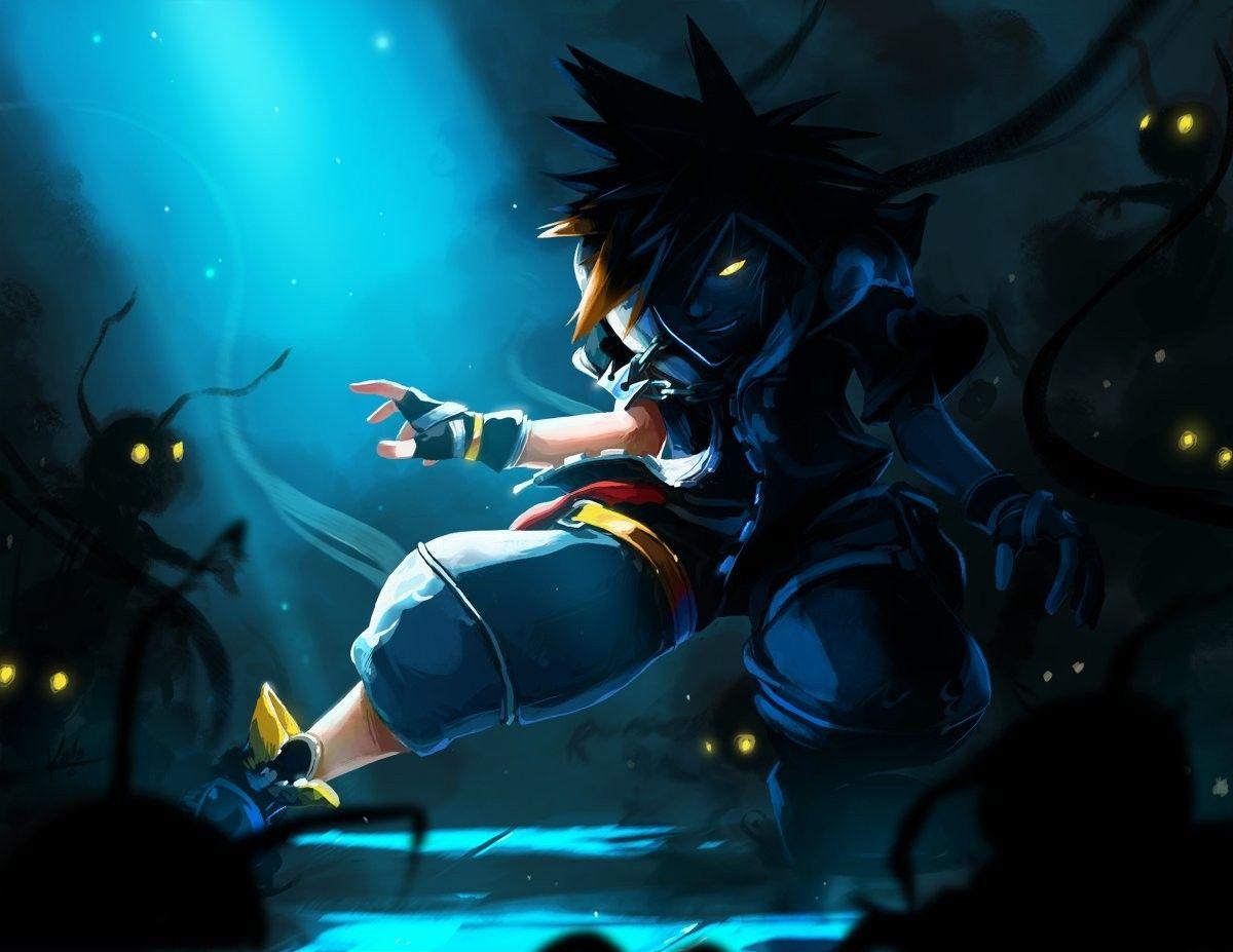 Drive Form Anti Sora Kingdom Hearts Kingdom Hearts