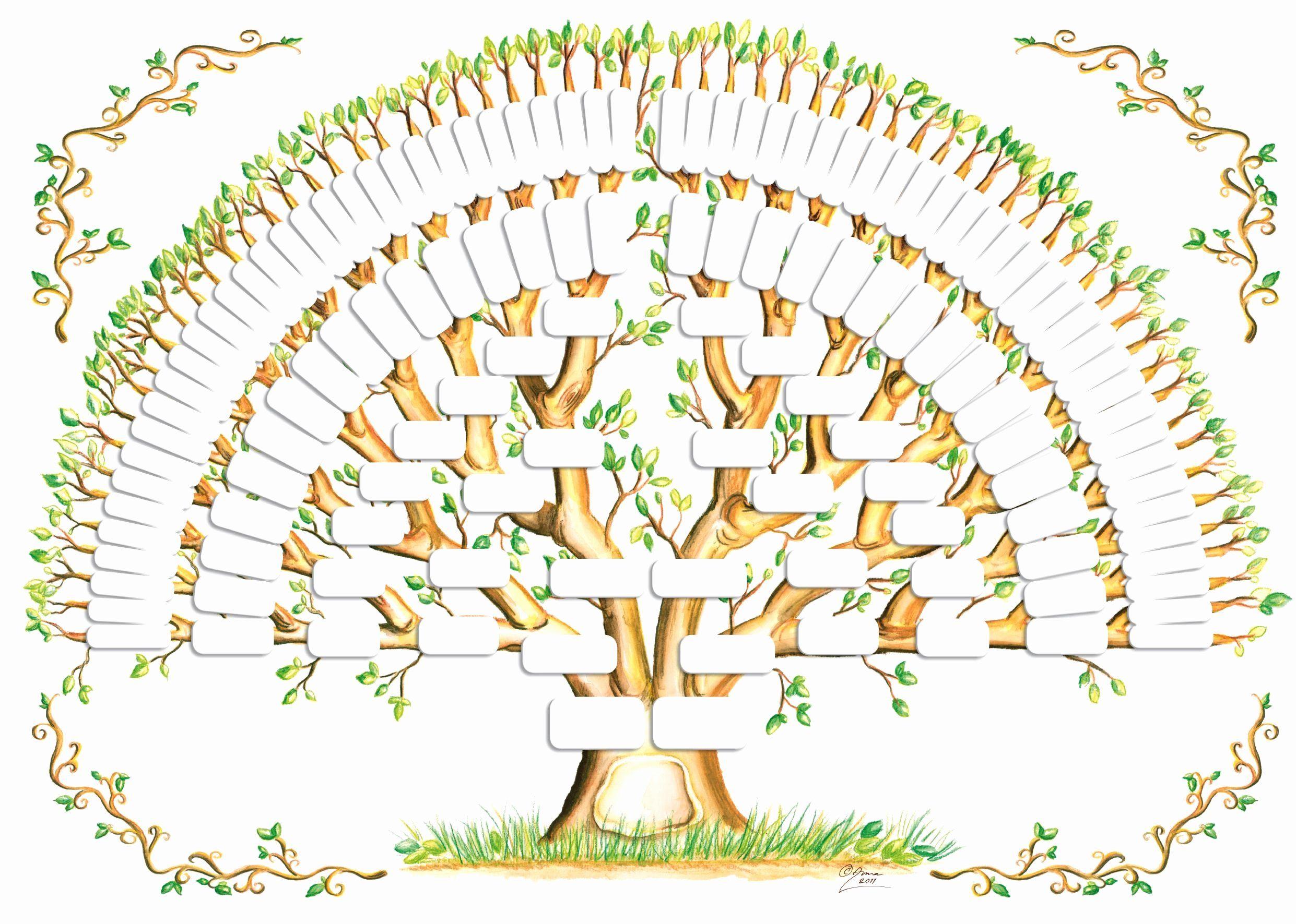 40 Editable Family Tree Template