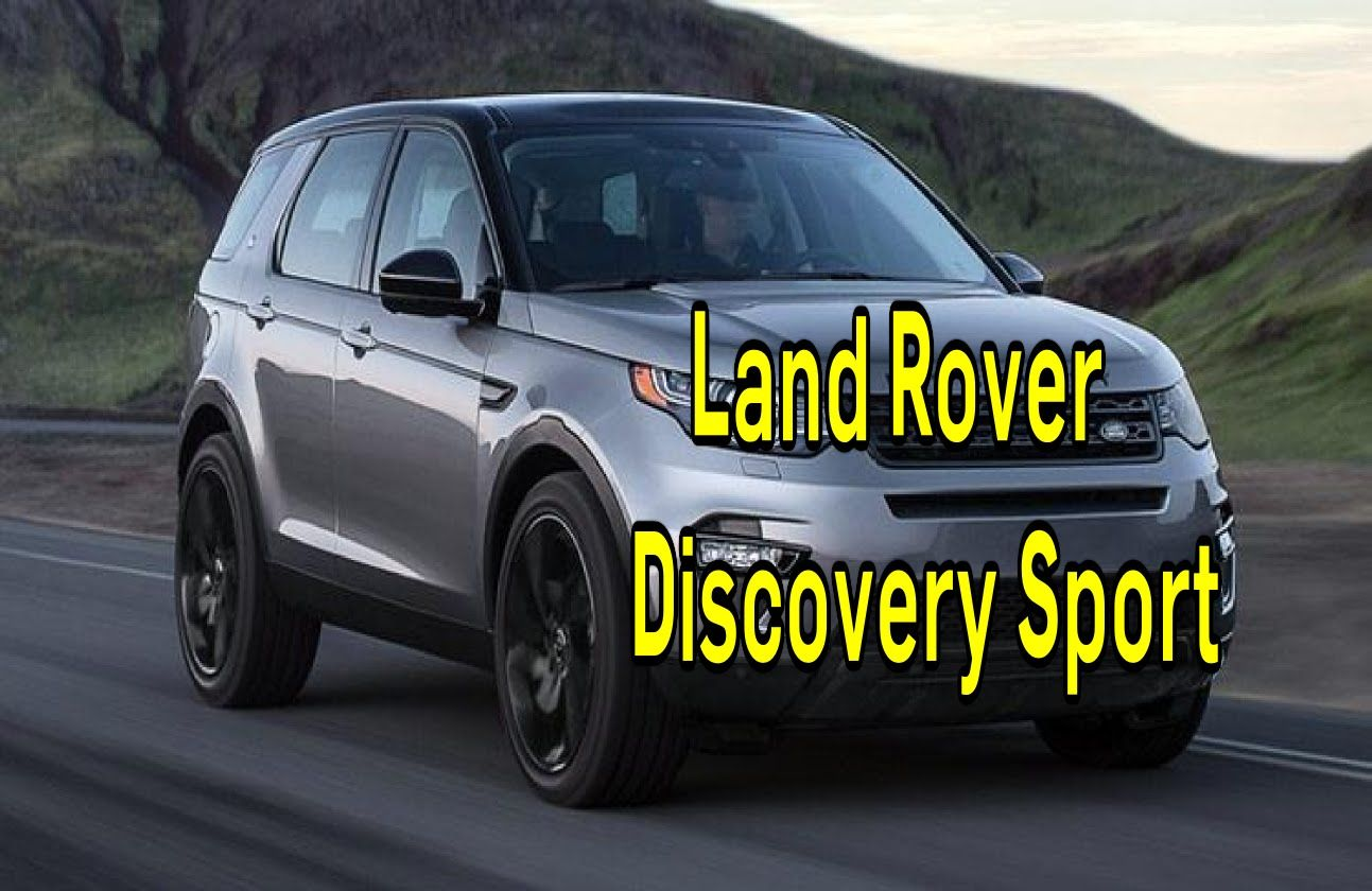 Land Rover Discovery Sport Review Smart Drive 6 DEC 2015