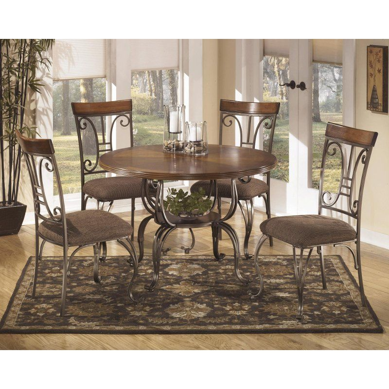 Welded Metal 5 Piece Dining Set   RC Willey Furniture ...