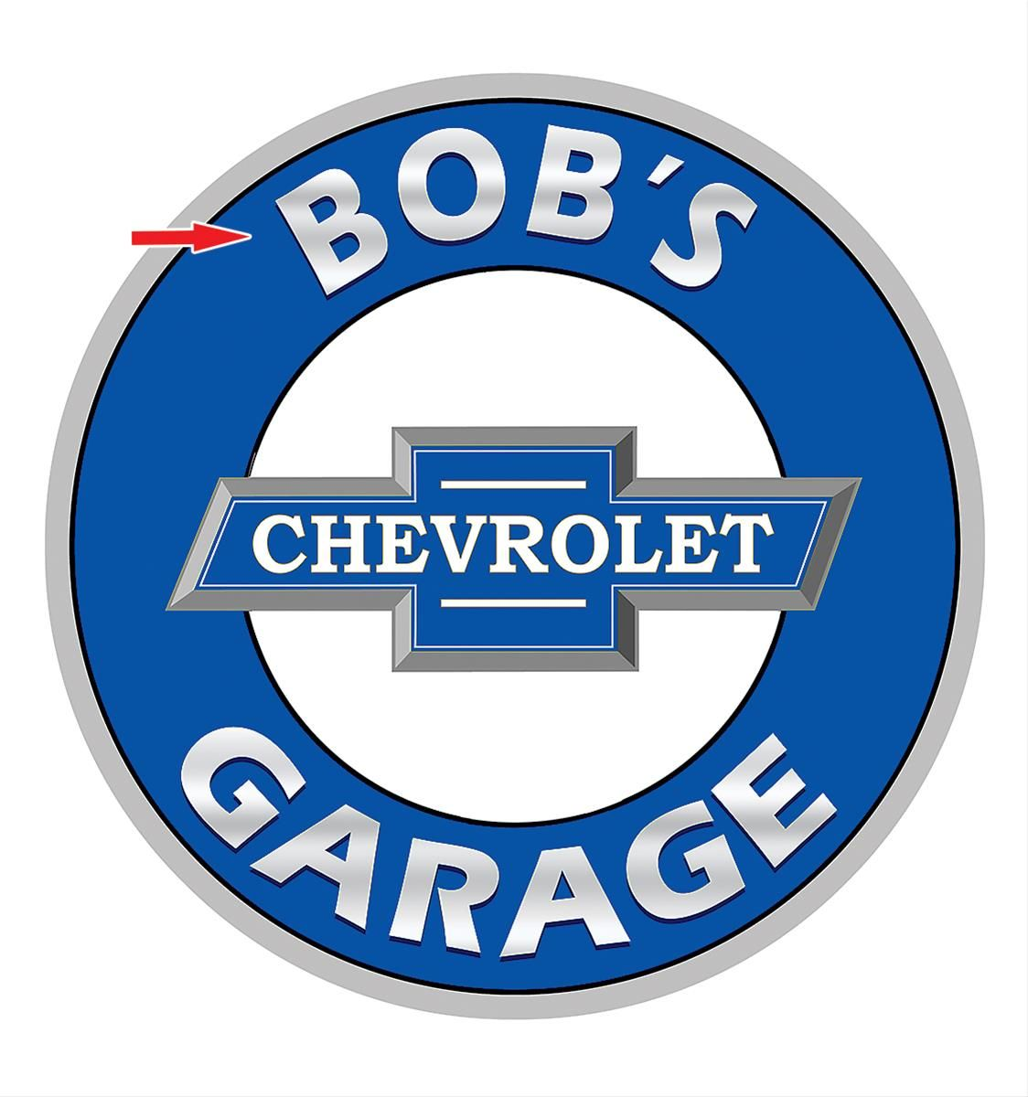 sign graphica garage custom personalized signs design