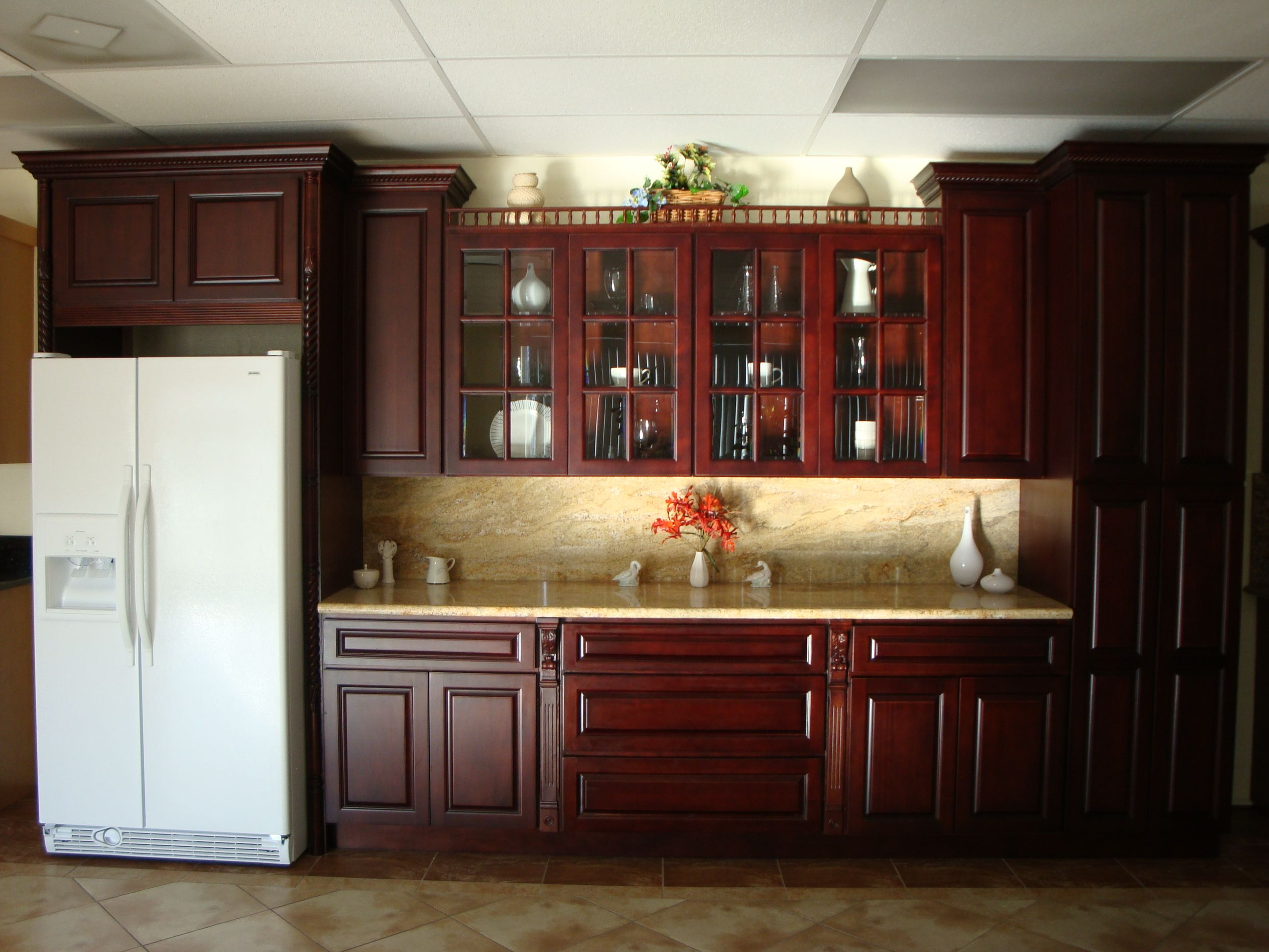 Kitchen Remodel Pictures Cherry Cabinets Cherry Kitchen Cabinets Photos  New Kitchens  Pinterest  Cherry