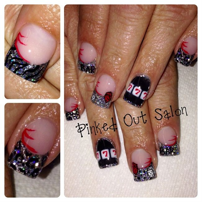 Vegas Bound - Nail Art Gallery | Nail Designs | Pinterest | Nail art ...