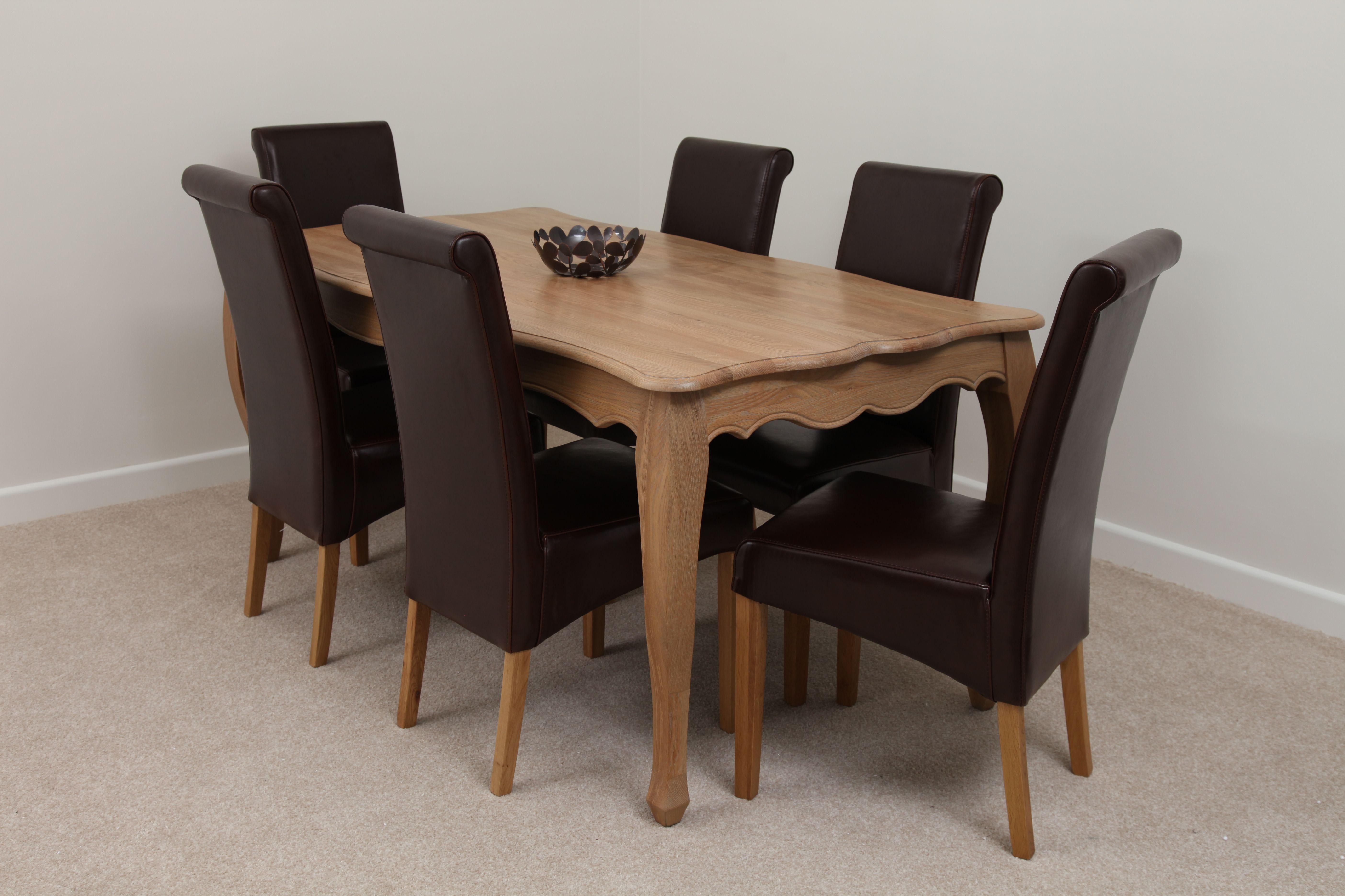 Grace Solid Oak Furniture Range Dining Room