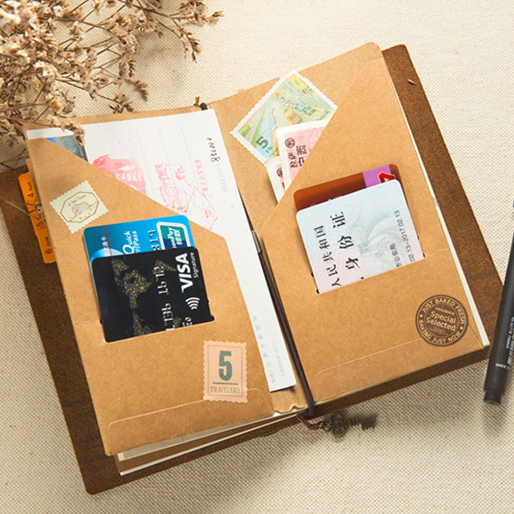 Traveler notebook accessory pvc zipper bag craft card holder cheap file holder buy quality paper file holder directly from china file paper suppliers moterm kraft paper file holder for traveler notebook accessory jeuxipadfo Image collections