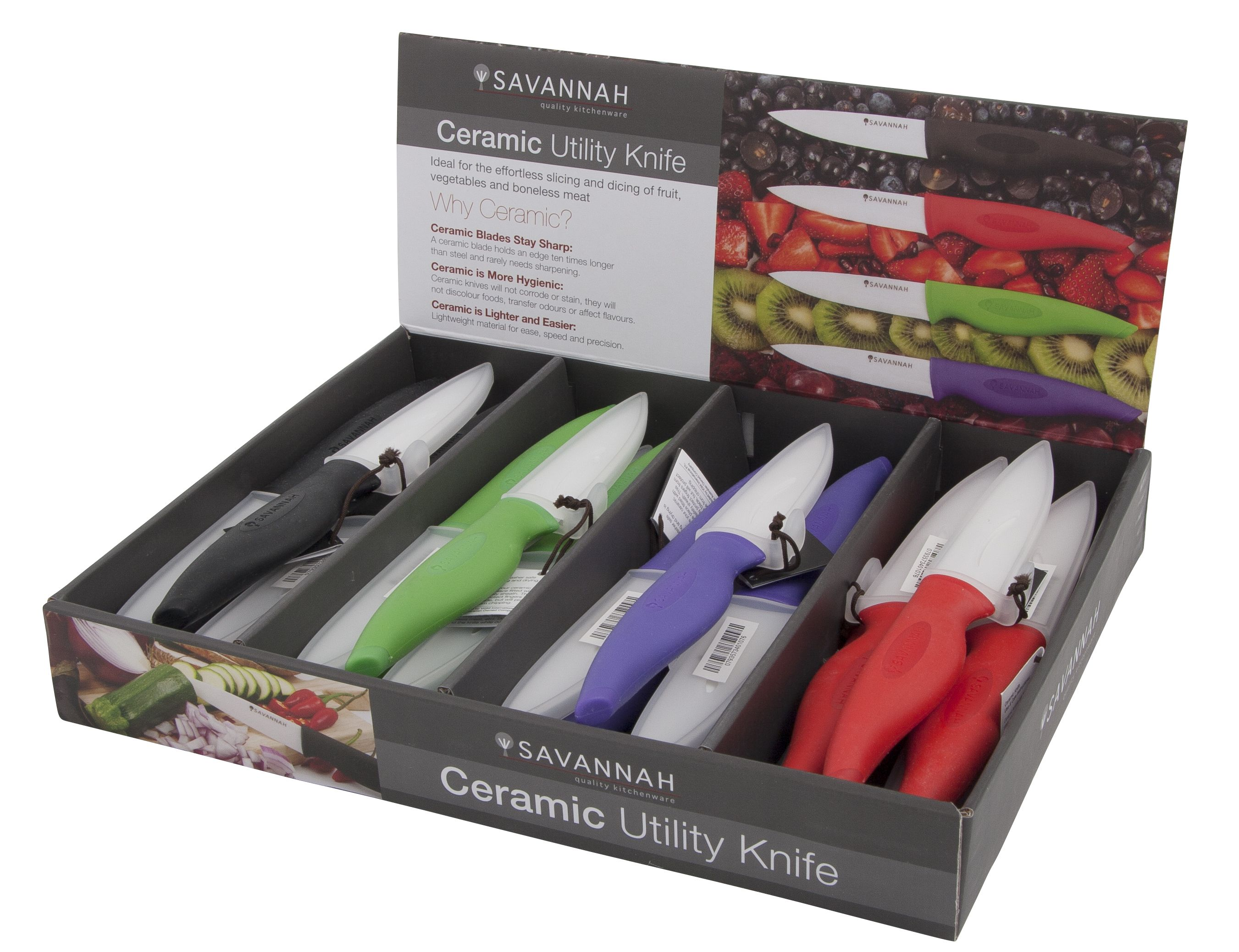 Ceramic and metal knives is the material they are made from ceramic - Savannah Ceramic Knives Ceramic Knives Made From The Hardest And Toughest Yet Lightweight Ceramic