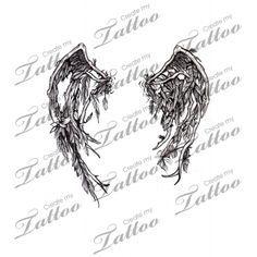 Male Broken Wing Tattoos Google Search Wings Tattoo Broken Wings Tattoo Fallen Angel Wings