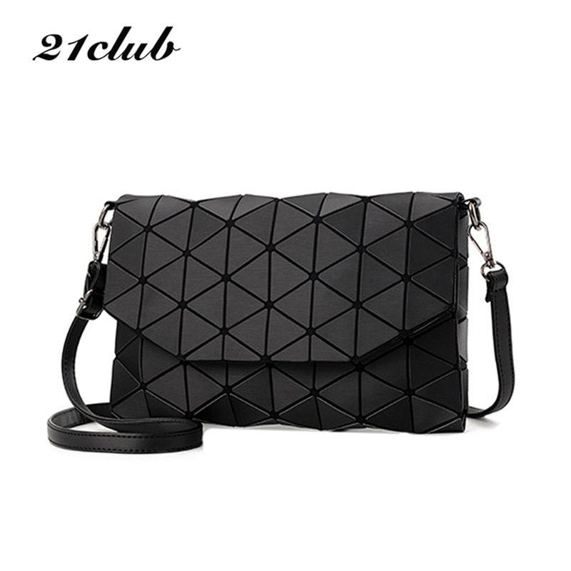 2017 new small solid plaid geometric lingge envelope handbag hotsale women  clutch ladies purse crossbody messenger shoulder bags Review a8f1f4f1396ff