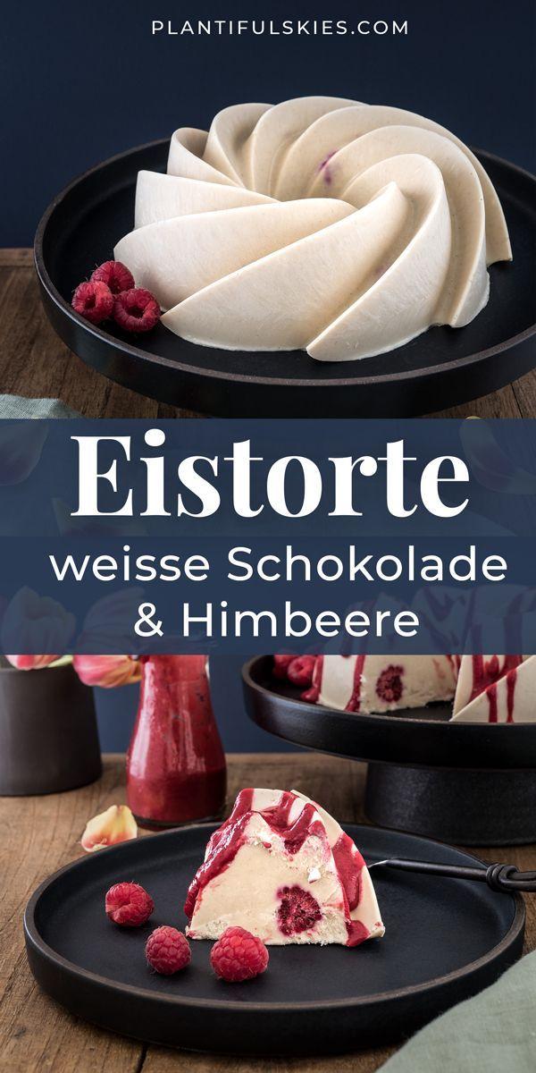 White Chocolate Rawcake mit Himbeer Kardamom Sauce ...