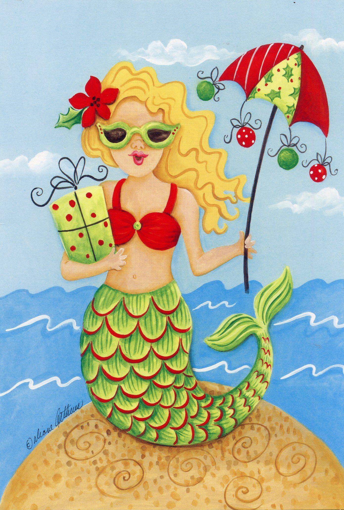 Mermaid by Diane Arthurs