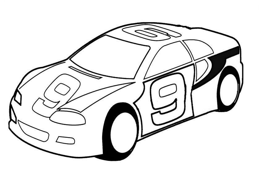 auto ausmalbilder 08 | Kinderspiele | Pinterest | Auto ausmalbilder ...