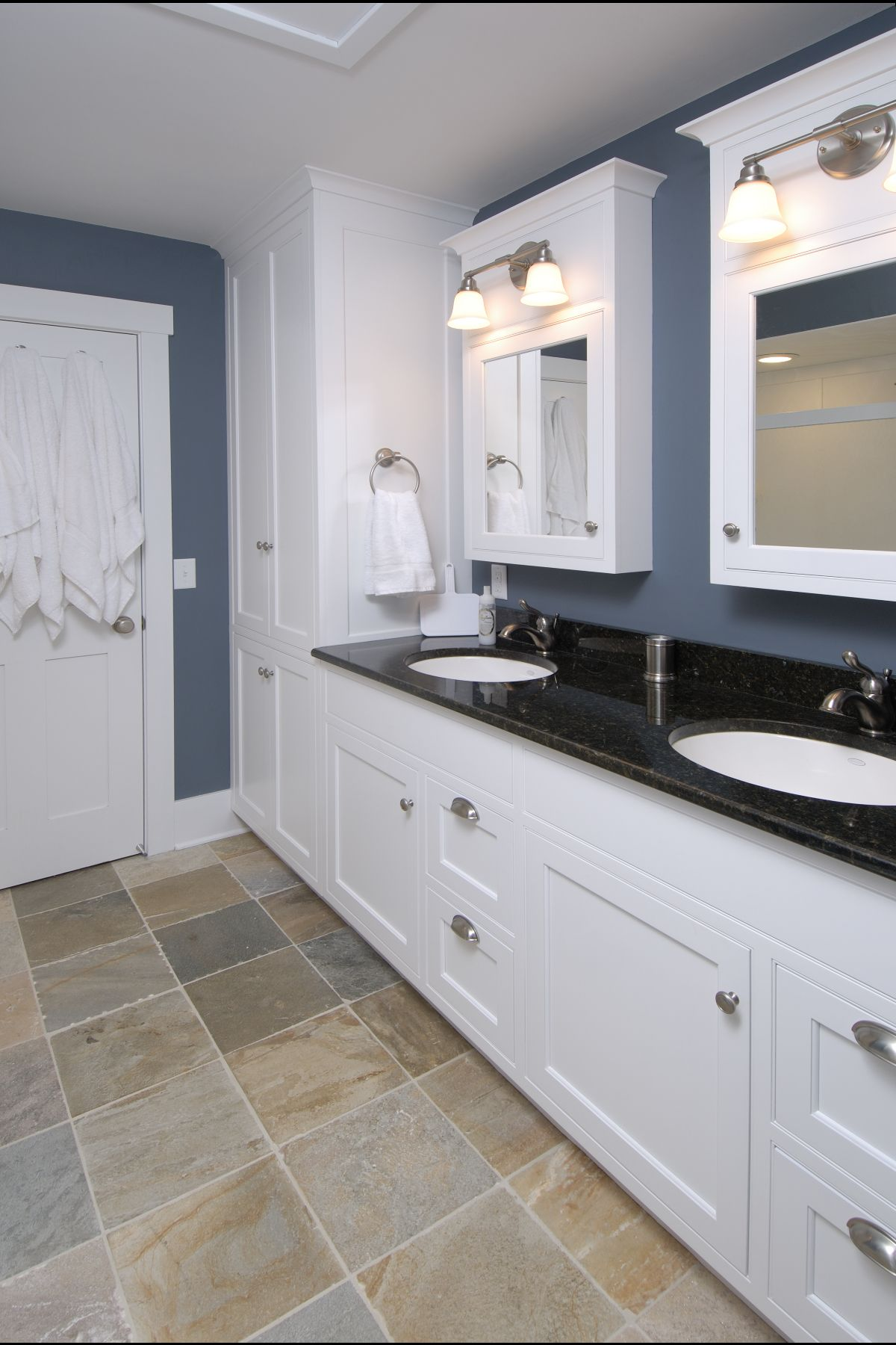 bathroom remodel completed by dehaan remodeling specialists inc