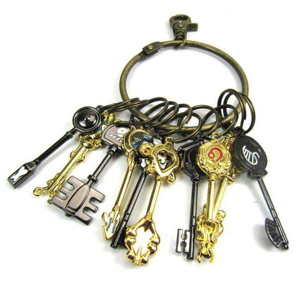 Fairy Tail Celestial Keys