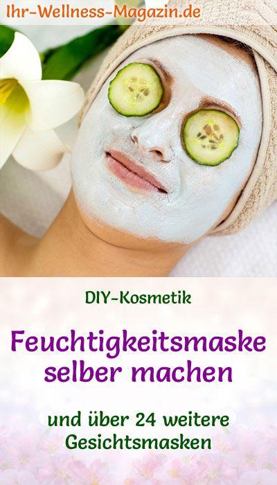 Machen Sie Ihre eigene Feuchtigkeitsmaske - Rezept und Anleitung